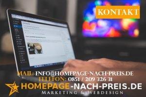 Homepage erstellen lassen Passau Kontakt