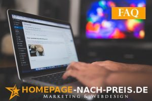 Webdesign Marketing faq