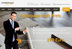 Webdesigner Homepage Webseite erstellen lassen