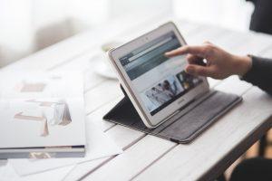 Homepage nach Preis Tablet Bild Responsiv