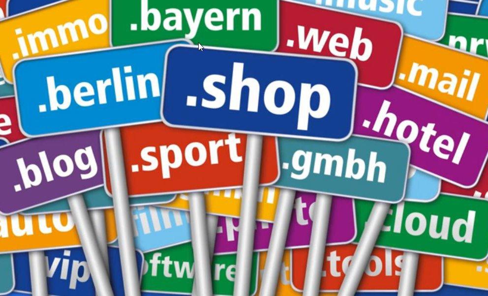 Die neuen TLD-Domain Adressen
