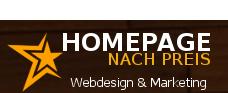 Homepage erstellen lassen nach Preis
