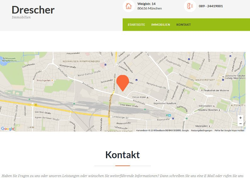 Website Erstellung Immobilien