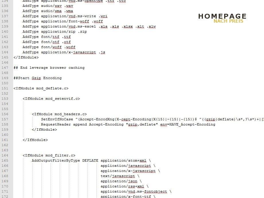 Webseiten Ladezeiten verbessern