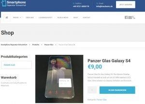 Homepage Erstellung Smartphone Reparatur 2