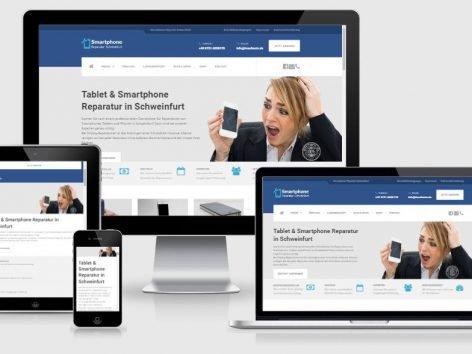 Homepage Smartphone Reparatur