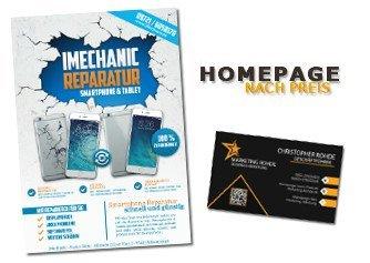Grafikdesigner Logo Flyer Broschüre Erstellung