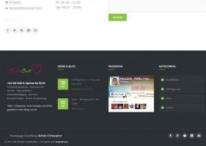 Homepage Erstellung Herzzeit 1