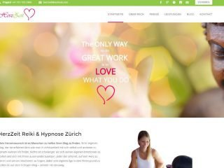 Homepage Erstellung Hypnose