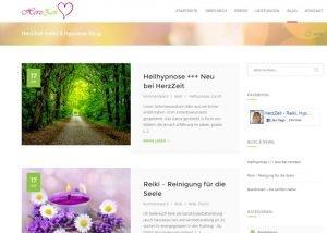 Homepage Erstellung Herzzeit 3
