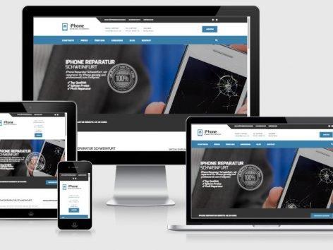 iPhone Werkstatt Webseite
