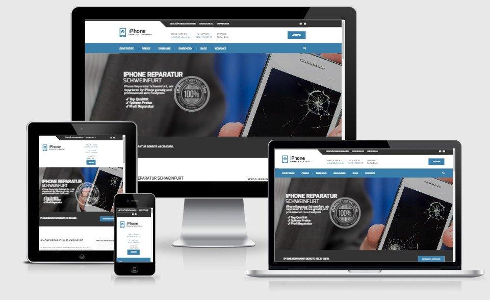 homepage erstellung iphone und handy reparatur homepage nach preis webseite erstellen lassen. Black Bedroom Furniture Sets. Home Design Ideas