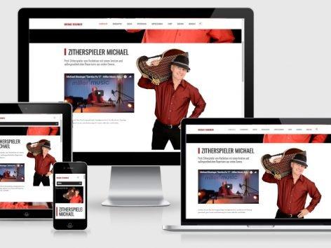 Homepage Erstellung Musiker