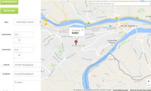 Google Map Generator