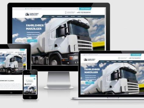 Fahrlehrer & Fahrschule Homepage