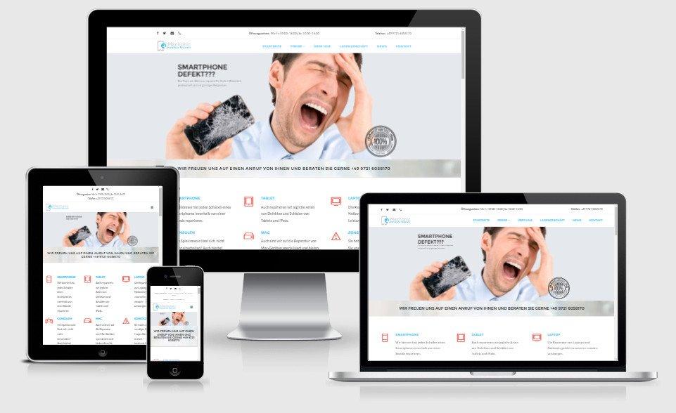 Homepage ReDesign iMechanic