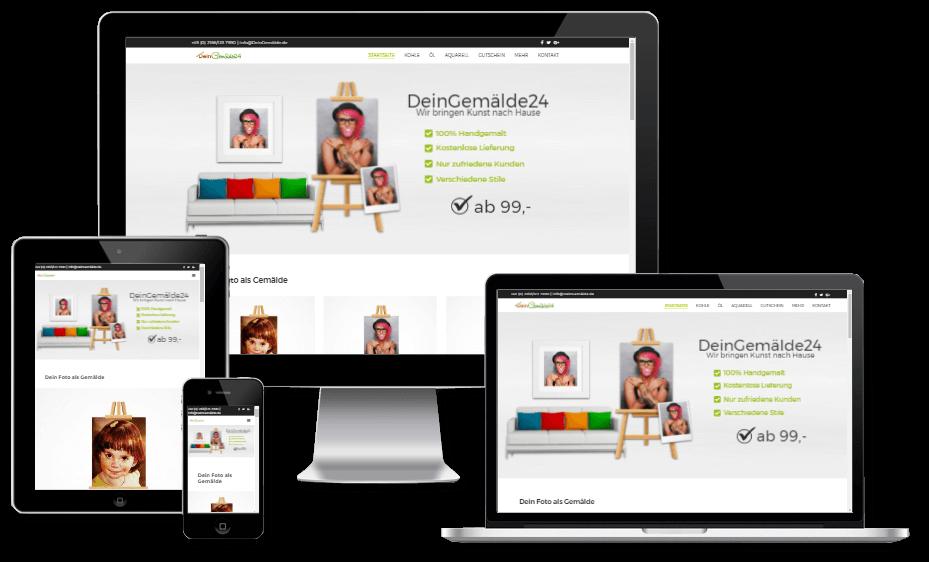 Internetshop von Webdesigner