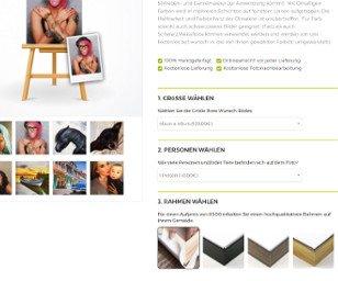Moderner Onlineshop Produkte