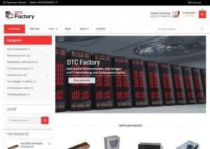 Onlineshop erstellen Elektroshop
