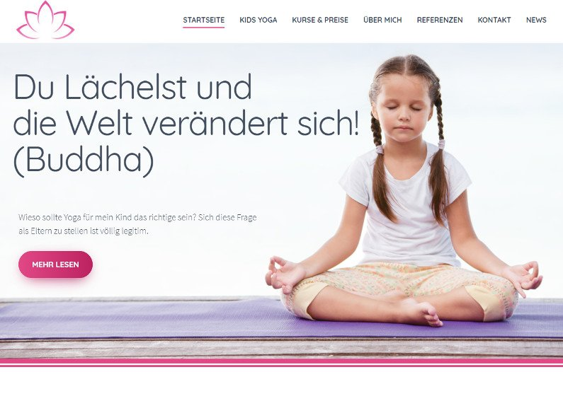 Yoga Business Homepage