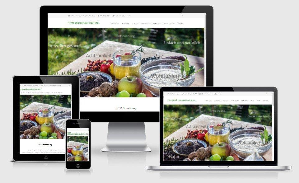 Webseite Ernährung & Beratung