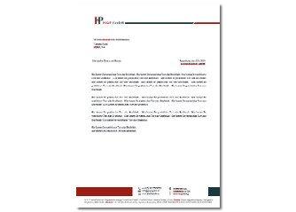 Briefpapier Design Erstellung
