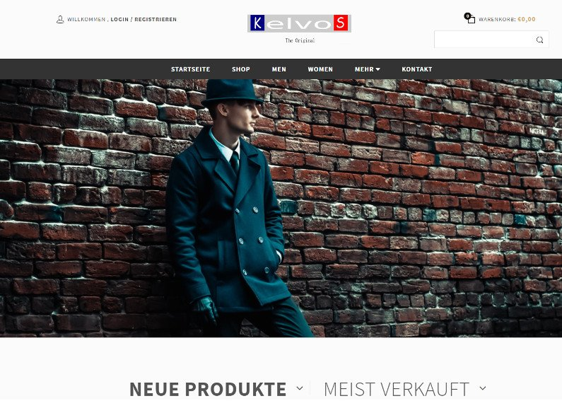 Onlineshop für Kleidung