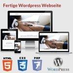 Fertige WordPress Webseite kaufen