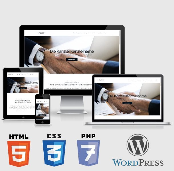 fertige Homepage und Webseite kaufen