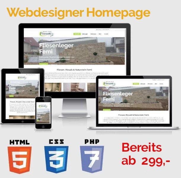 Webdesigner Homepage kaufen
